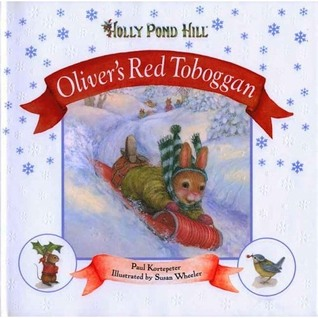 Holly Pond Hill: Oliver's Red Toboggan