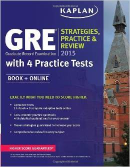 GRE® 2015 Strategies, Practice, and Review with 4 Practice Tests: Book + Online