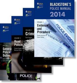 Blackstone's Police Manual 2014