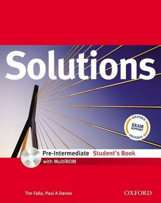 Solutions Pre Intermediate: Student's Book With Multi Rom Pack