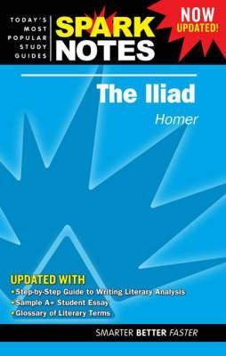 the iliad sparknotes literature guides by sparknotes