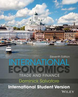 International economics trade and finance by dominick salvatore 21028186 fandeluxe Image collections