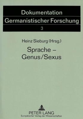 Sprache--Genus/Sexus
