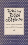 The Works of Joseph de Maistre