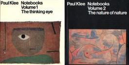 Paul Klee Notebooks: The Thinking Eye / The Nature of Nature/ Volumes I & II