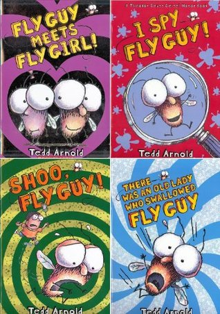 FLY GUY READERS STARTER PACK / I Spy Fly Guy! / Fly Guy Meets Fly Girl / Shoo, Fly Guy! / There Was an Old Lady Who Swallowed Fly Guy