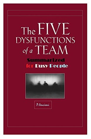 The Five Dysfunctions of a team Summarized for Busy People