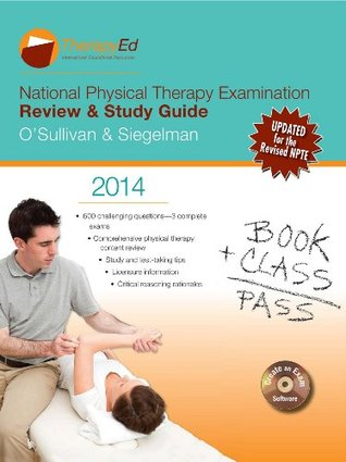 national physical therapy examination review study guide 2014 by rh goodreads com Tea Practice Test Guide O'Sullivan NPTE 2014
