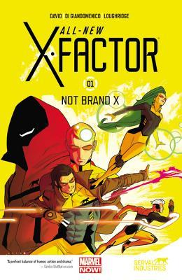 All new x factor vol 1 not brand x by peter david 19539418 publicscrutiny Choice Image
