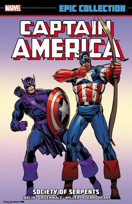 Captain America Epic Collection Vol. 12: Society of Serpents