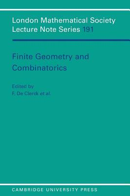 Finite Geometries and Combinatorics