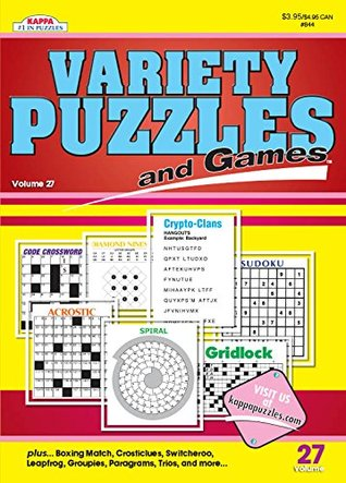 Variety Puzzles and Games-Vol.27