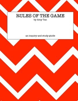 rules of the game amy tan thesis Free summary and analysis of the events in amy tan's rules of the game that won't make you snore we promise.