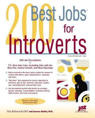 200 Best Jobs for Introverts. Best Jobs Series.