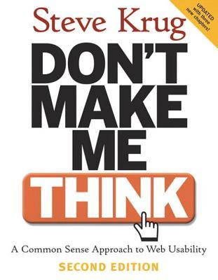 Don't Make Me Think: A Common Sense Approach to Web Usability, Adobe Reader