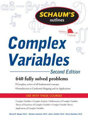schaum s outline of complex variables by murray r spiegel rh goodreads com