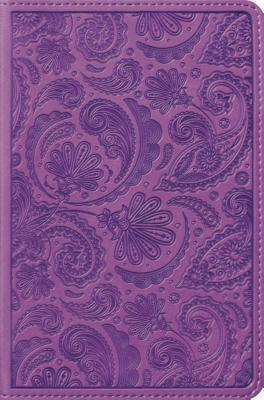 Compact Bible-ESV-Paisley Design
