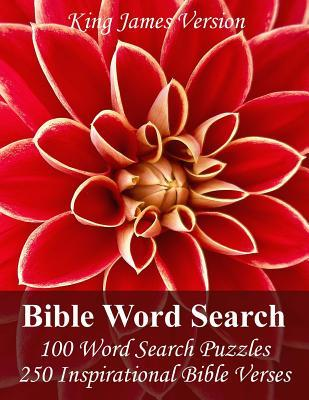 King James Bible Word Search: 100 Word Search Puzzles with 250 Inspirational Bible Verses in Jumbo Print