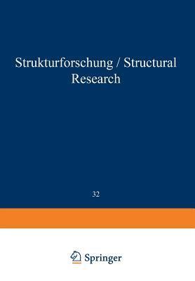 Structural Research / Strukturforschung par André Guinier, Gérard Von Eller, J. Bouman, Gerard Fournet, W.W. Beeman, P. Kaesberg, J.W. Anderegg, M.B. Webb, H. Raether, G.R. Ringo