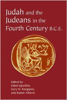 Judah and the Judeans in the Fourth Century B.C.E.
