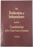 POCKET CONSTITUTION - The Declaration of Independence and the Constitution of the United States of A