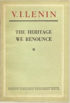 The Heritage We Renounce