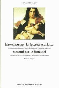 La lettera scarlatta - Racconti neri e fantastici