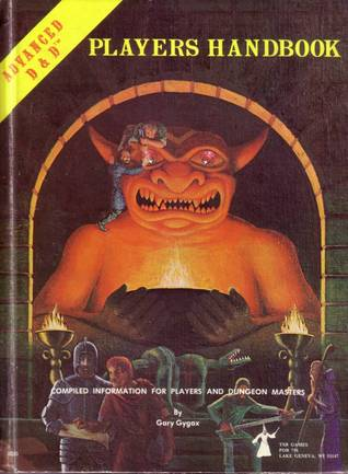 Advanced Dungeons & Dragons Players Handbook by Gary Gygax