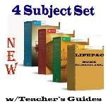 New Lifepac Grade 9 AOP 4-Subject Box Set (Math, Language, Science & History / Geography, Alpha Omega, 9th GRADE, HomeSchooling CURRICULUM, New Life Pac [Paperback]