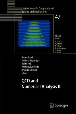 QCD and Numerical Analysis III: Proceedings of the Third International Workshop on Numerical Analysis and Lattice QCD, Edinburgh, June-July 2003
