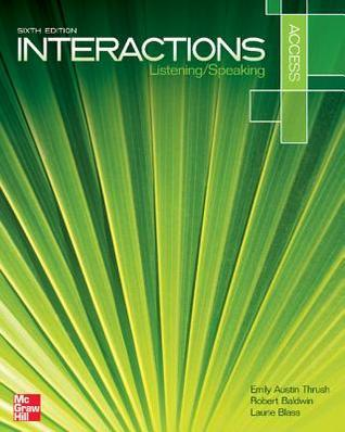 Interactions Access Listening/Speaking 6th Edition with Online Access Code for Connect Plus