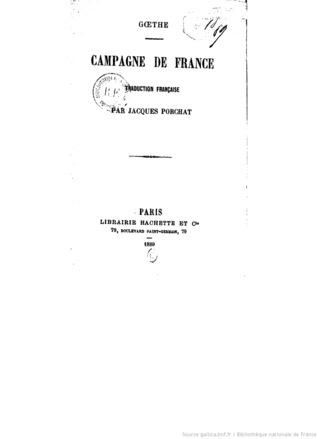 Campagne de France (A0/00d.1889)