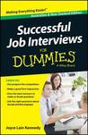 Successful Job Interviews for Dummies by Joyce Lain Kennedy