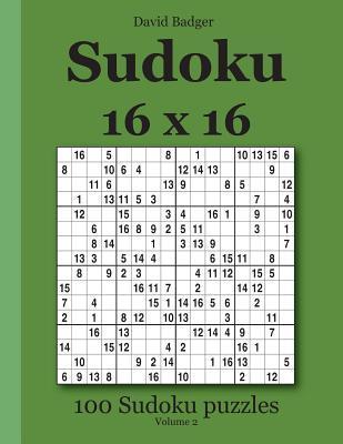 Sudoku 16 X 16