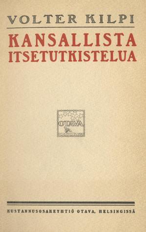 Kansallista itsetutkistelua: Suomalaisia kulttuuri-ääriviivoja