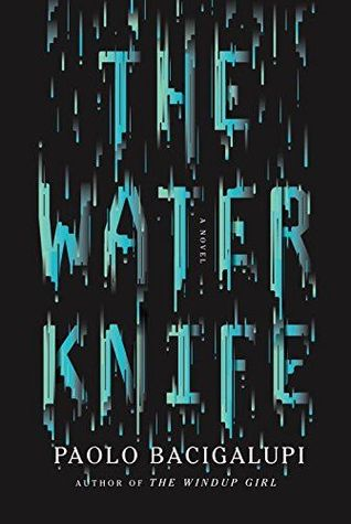 Image result for the water knife cover