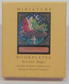 Miniature Bookplates: Moonlit Magic