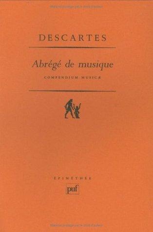 Abrégé de musique: Compendium musicae