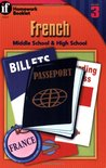 French Homework Booklet, Middle School / High School, Level 3 (Homework Booklets) (English and French Edition)