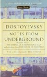 Download ebook Notes from Underground, White Nights, The Dream of a Ridiculous Man, and Selections from The House of the Dead by Fyodor Dostoyevsky
