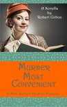 Murder Most Convenient (Mrs. Xavier Stayton, #1)