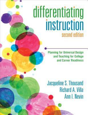 Differentiating Instruction: Planning for Universal Design and Teaching for College and Career Readiness