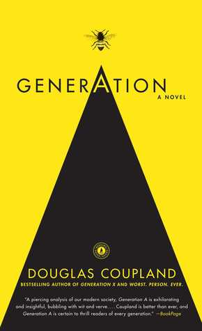 Generation A By Douglas Coupland 3 Star Ratings