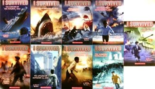 I Survived Pack Set of 9 Books, Japanese Tsunami, Sinking Titanic, Shark Attacks, Hurricane Katrina 2005, Bombing Pearl Harbor 1941, San Francisco Earthquake 1906, Attacks of September 11, 2001, Gettysburg 1863, I Survived the Nazi Invasion, 1944