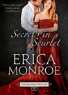 Book cover for Secrets in Scarlet  (The Rookery Rogues, #2)