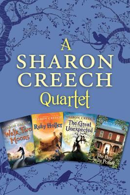 sharon-creech-4-book-collection-walk-two-moons-ruby-holler-the-great-unexpected-the-boy-on-the-porch