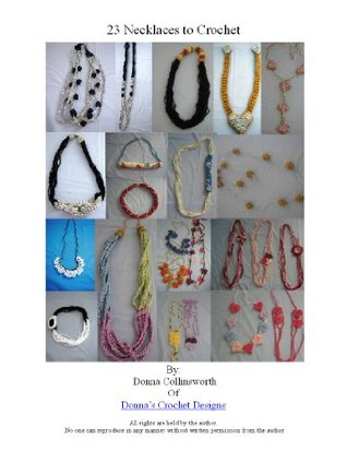 23 Necklaces and Chokers Crochet Pattern Set