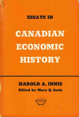 essays in canadian economic history