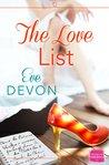The Love List by Eve Devon