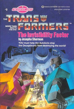 The Invisibility Factor (The Transformers: Find Your Fate, #9)
